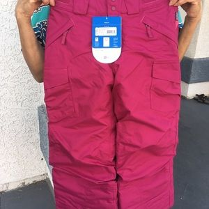 NWT Patagonia Girl's Go-Snow Pants